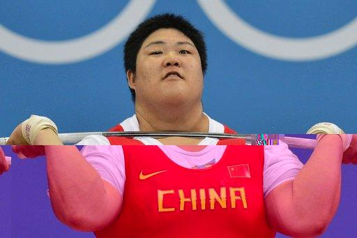 China's Zhou Lulu competes to win the gold medal
