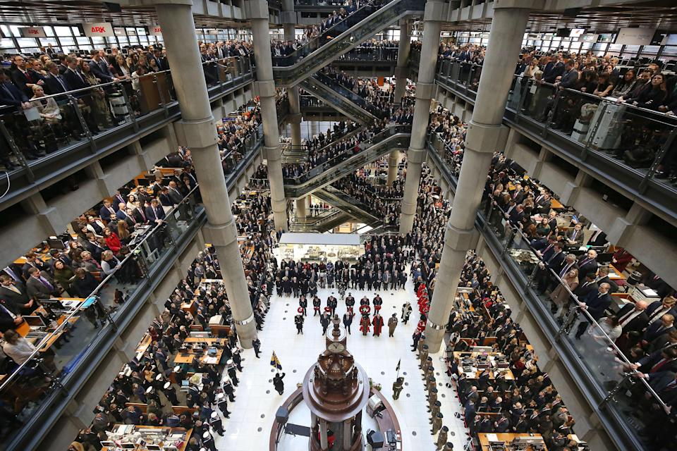 Lloyd's of London moved jobs to Brussels ahead of Brexit. Photo: Philip Toscano/PA Archive/PA Images