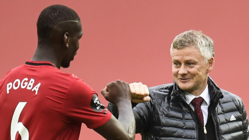 'He's got to make up for lost time' - Solskjaer eager to see Pogba lift Europa League trophy again