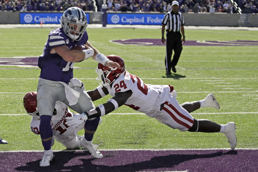 No. 3 Oklahoma looks to avoid another loss to Kansas State