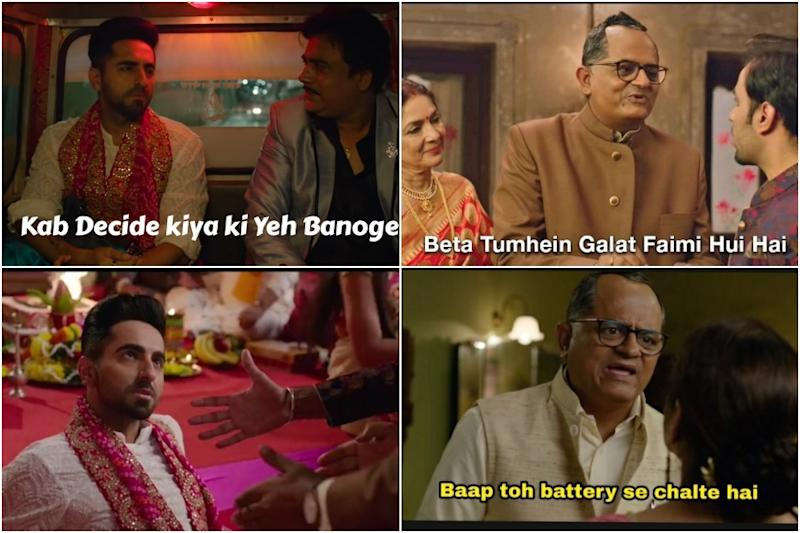 These Memes From Shubh Mangal Zyada Saavdhan Trailer Prove That the Film is Already a Hit