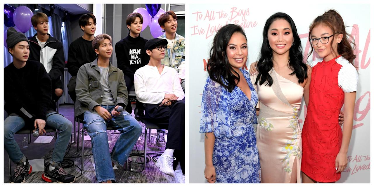 Janel Parrish Reveals She's a BTS Fan After To All the Boys