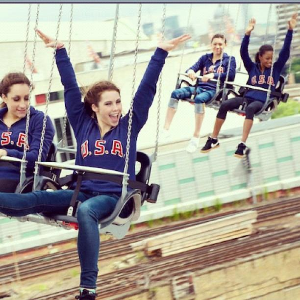 yess, we had a little bit of fun!! (; @McKaylaMaroney