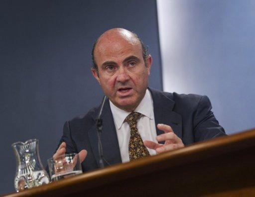 Spanish Economy Minister Luis de Guindos, pictured May 11 in Madrid. Spain has charged two global consulting firms, Roland Berger and Oliver Wyman, with valuing the battered banking system's deeply troubled balance sheets