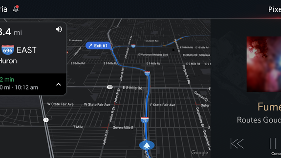 Google Maps will be the built-in navigation tool for some GM ... on advance map, valhalla rising map, shore parkway map, lightning in a bottle map, guide map,