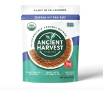 "<p><strong>Ancient Harvest</strong></p><p>amazon.com</p><p><a href=""https://www.amazon.com/dp/B073RRLMR6?tag=syn-yahoo-20&ascsubtag=%5Bartid%7C10055.g.35886676%5Bsrc%7Cyahoo-us"" rel=""nofollow noopener"" target=""_blank"" data-ylk=""slk:Shop Now"" class=""link rapid-noclick-resp"">Shop Now</a></p><p><strong>Quinoa is actually a complete protein, making it a popular choice for vegans and vegetarians as it contains all nine essential amino acids. </strong>This convenient microwaveable pack features minimal ingredients and is prepared in 90 seconds. Use it as the base of a homemade grain bowl or in your favorite breakfast <a href=""https://www.goodhousekeeping.com/food-recipes/healthy/g607/quinoa-recipes/"" rel=""nofollow noopener"" target=""_blank"" data-ylk=""slk:quinoa recipe"" class=""link rapid-noclick-resp"">quinoa recipe</a>. Plus, it's also available in a variety of flavors like southwestern, and chickpeas and garlic.</p>"