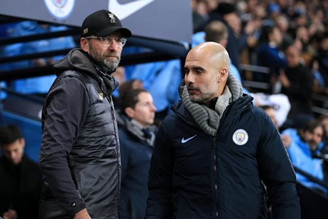 Sunday's Liverpool-Manchester City encounter might be more cagey than you think. (Photo by Simon Stacpoole/Offside/Getty Images)