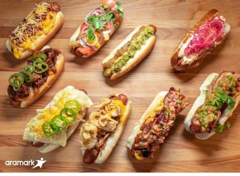 Aramark Heats Up Arenas with 25 New Menu Items for the NHL and NBA Seasons