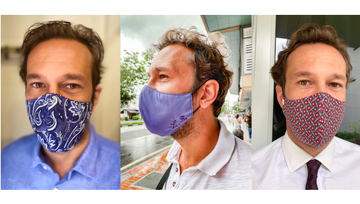 Where to Buy Fashionable Face Masks and Sports Masks for Men in Singapore