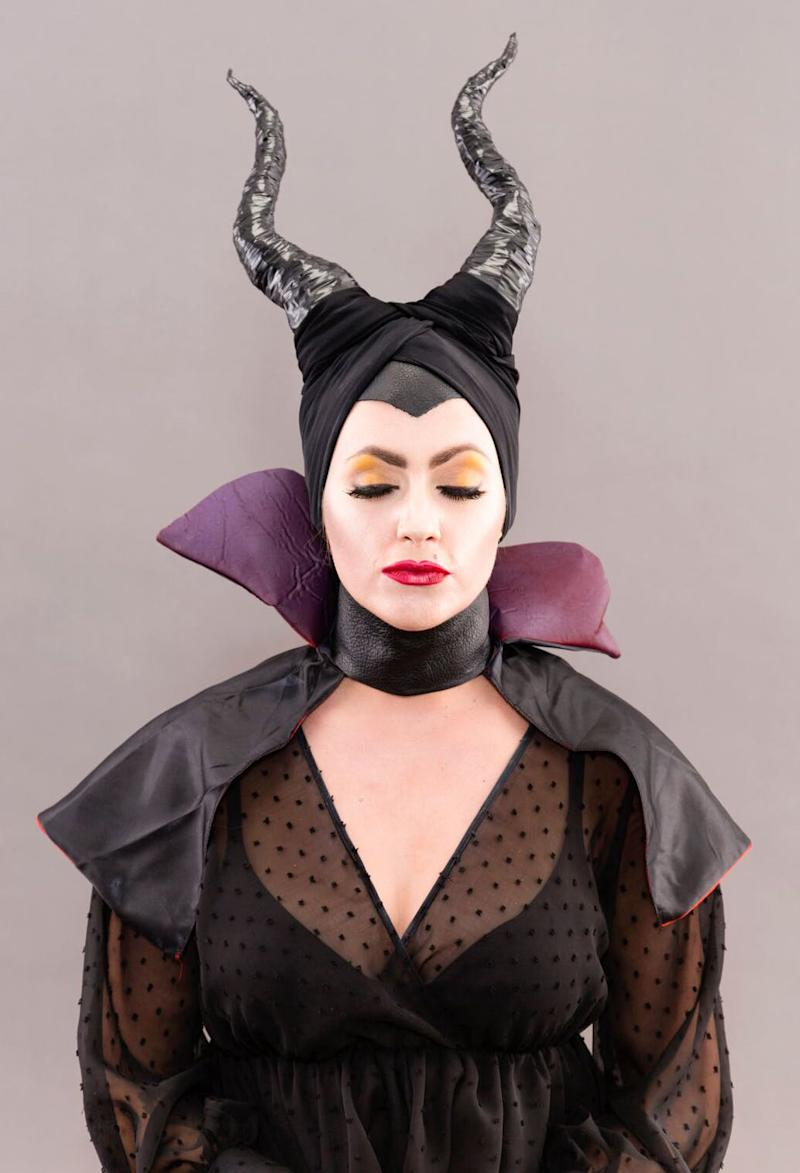 Forget About Princesses This Diy Maleficent Costume Will