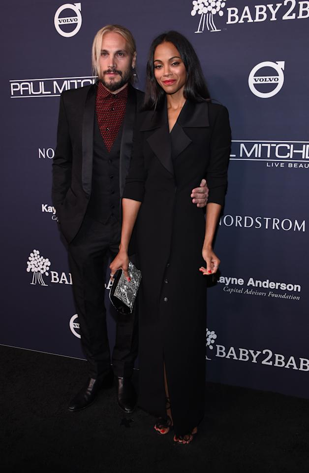 <p>At the Baby2Baby gala in November 2017.<em> [Photo: Getty]</em> </p>