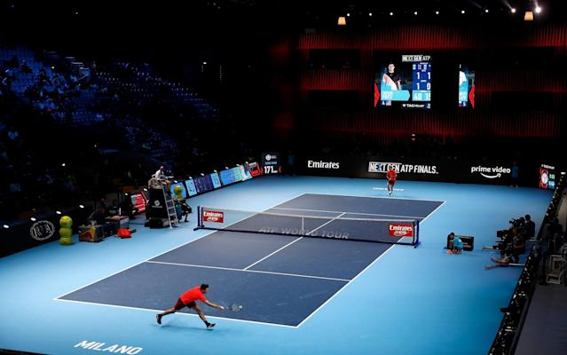 The Next Gen ATP Finals is experimenting with various different rules  - Getty Images Europe