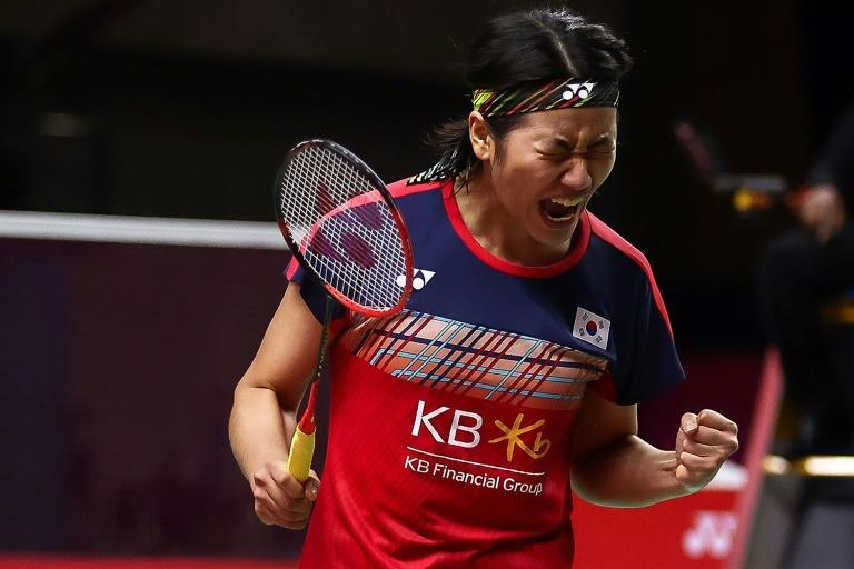 South Korean An Se-young beat former world champion Carolina Marin in the World Tour Finals on Friday