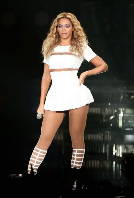 Beyonce performs during 'The Mrs. Carter Show World Tour' at Allphones Arena in Sydney, Australia on October 31, 2013 -- Getty Images