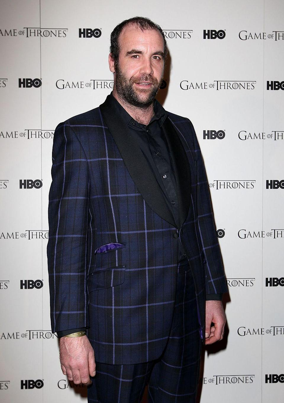 "<p>Rory McCann, who plays Sandor ""The Hound"" Clegane, in 2012.</p>"