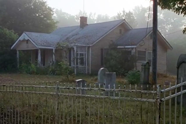 <p>After recuperating from injuries in the Kingdom, Carol leaves to live alone at this quaint and (mostly) peaceful cottage surrounded by a picket fence.<br>Address: 774 Old Greenville Rd, Fayetteville, GA 30215<br>(Photo: AMC) </p>