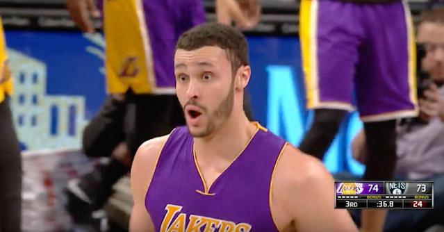 When even you can't believe you just did that. (Screencap via NBA)