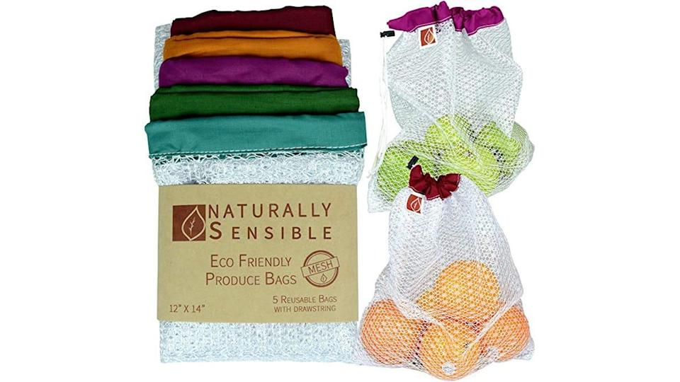 Snag these eco-friendly produce bags for your next grocery trip.