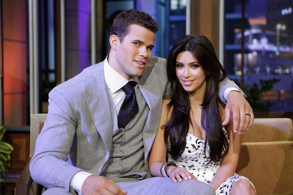 <p>Kardashian was married to Damon Thomas from 2000 to 2004 and in 2011, the reality start married NBA player Humphries (pictured). The couple announced their separation after only 72 days of marriage and their very public divorce was finalized in 2013.</p>