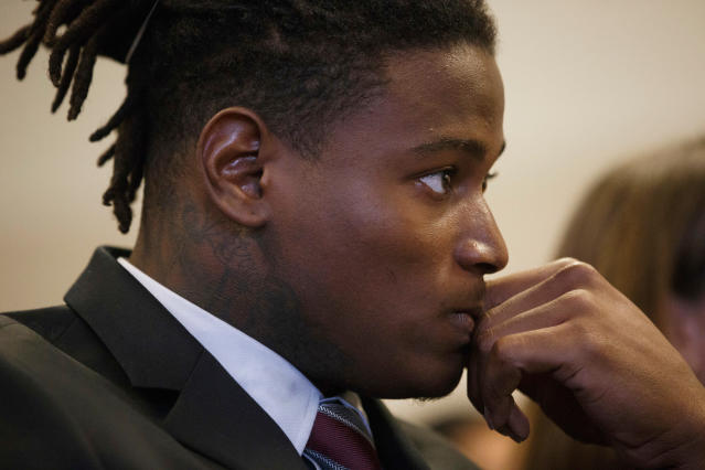 Former San Francisco 49ers linebacker Reuben Foster was claimed off waivers this week by Washington despite his arrest. (AP)