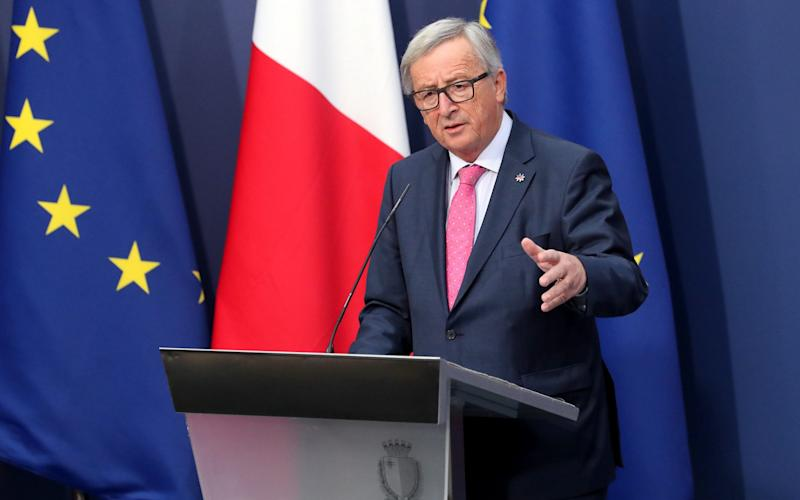 Jean-Claude Juncker President of the European Union - Credit: EPA