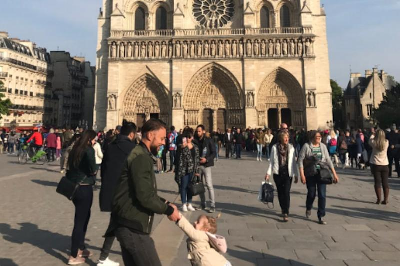 Father-Daughter Duo from Viral Notre-Dame Photo Just Before Fire Have Been Found
