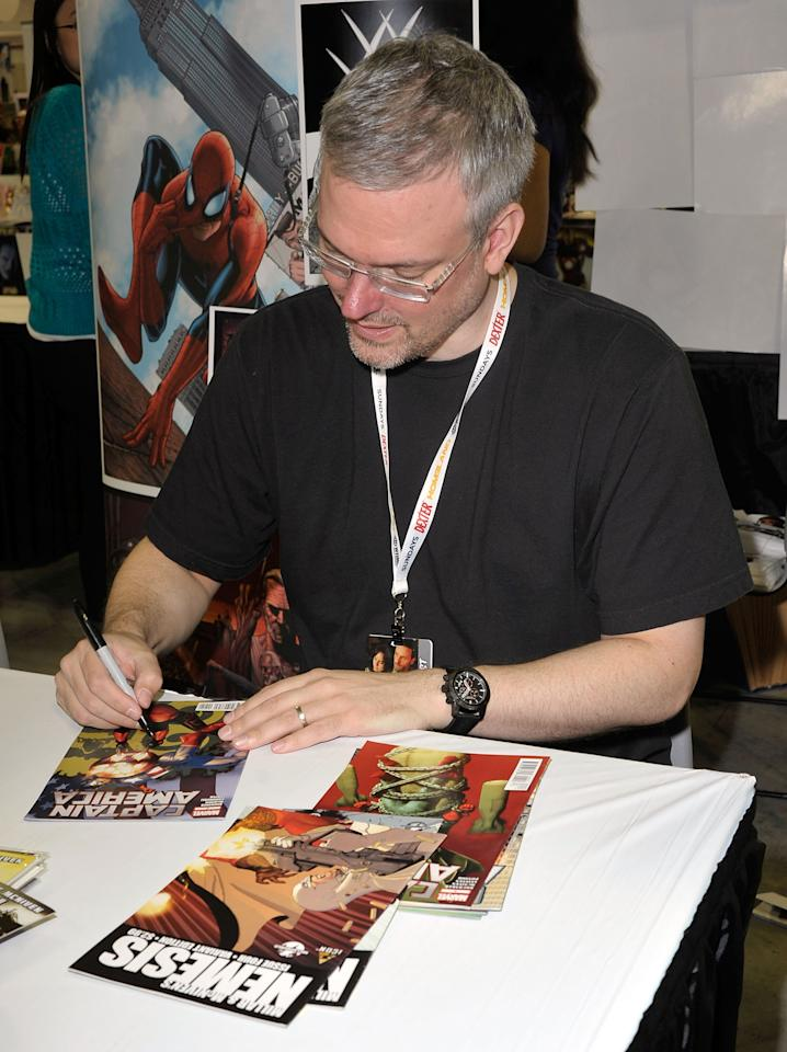 NEW YORK, NY - OCTOBER 11:  Artist Steve McNiven attends the 2012 New York Comic Con at the Javits Center on October 11, 2012 in New York City.  (Photo by Daniel Zuchnik/Getty Images)