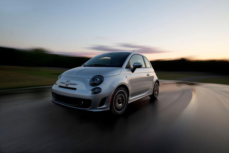 This undated image provided by Chrysler shows the New 2013 Fiat 500 Turbo. Chrysler Group LLC said Tuesday, Oct. 2, 2012, that its September U.S. sales rose 12 percent, crediting strong demand for new models, low interest rates and a stable U.S. economy. (AP Photo/Chrysler)