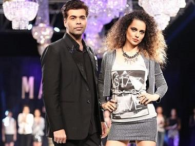 Kangana Ranaut to appear on Karan Johar's show India's Next Superstar a year after her nepotism remark