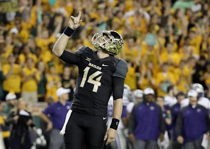 Bryce Petty and Baylor now await the College Football Playoff selection committee's decision. (AP)