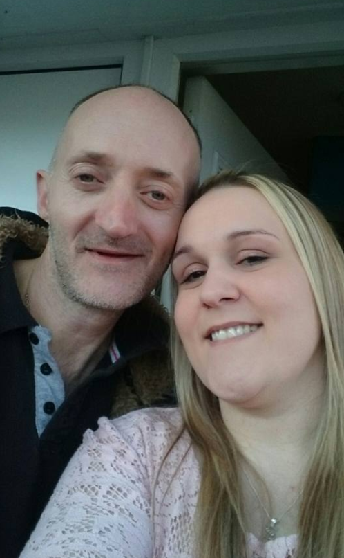 Stacy and Jason have refused to take the memorial down - and are fighting the council. Photo: Facebook