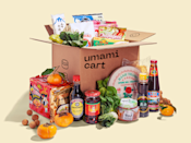 """Andrea Xu grew up in Spain as the daughter of Chinese immigrants. Finding ingredients to make Chinese meals was a challenge, even when Xu moved to New York. In March of 2021, she created Umami Cart as a one-stop online shop for Asian groceries, selling everything from produce like bok choy and Napa cabbage to soba noodles and sashimi grade fish. The retailer also carries pantry staples and snacks from other brands owned by Asian women, <a href=""""https://cna.st/affiliate-link/xXAuEUCDr4LhMp9ZciFUxzb6cptqFs99Rc4k1CTg8wRKSCsNuRLUreJs6uiDxzpd4MGASvnr?cid=60b936cad3ee90ed2b6c01d0"""" rel=""""nofollow noopener"""" target=""""_blank"""" data-ylk=""""slk:Gr8nola"""" class=""""link rapid-noclick-resp"""">Gr8nola</a> and <a href=""""https://cna.st/affiliate-link/XG6wkdXU4PX2eVCbswB1ZsYhuoCNCzjbenZ7ZZyRkhxpk72oxQ2FkoB7QSkX92YARh8o5ENyYx4yUXaXNyVR6D62mfUSzc?cid=60b936cad3ee90ed2b6c01d0"""" rel=""""nofollow noopener"""" target=""""_blank"""" data-ylk=""""slk:Mother-In-Law's Kimchi"""" class=""""link rapid-noclick-resp"""">Mother-In-Law's Kimchi</a> included. For now, Umami Cart <a href=""""https://cna.st/affiliate-link/XG6wkdXU4PX2eVCbswB1ZsYhuoCNCzjbenZ7ZZyRkhxpk72oxQ2o3ZKt3FbzRwziVQ1oEfJB44RdR2ozihDuPnxZSKQcMn?cid=60b936cad3ee90ed2b6c01d0"""" rel=""""nofollow noopener"""" target=""""_blank"""" data-ylk=""""slk:delivers"""" class=""""link rapid-noclick-resp"""">delivers</a> to certain states in the Northeast."""