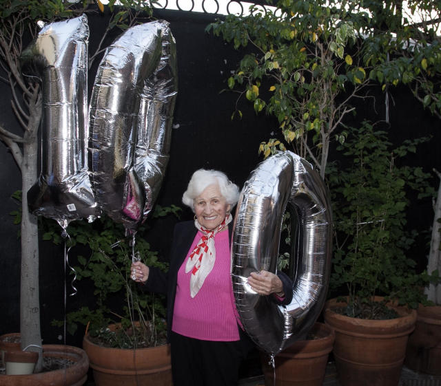 Regina Zlotnik celebrated her 100th birthday last year with a party. You have to see what she did this year for her 101st. (Photo: Courtesy of Ashley Gold)