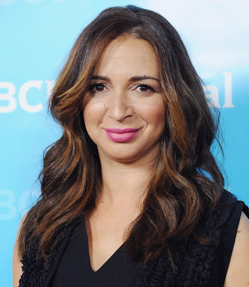 "<a href=""/maya-rudolph/contributor/893740"">Maya Rudolph</a> (""<a href=""/up-all-night/show/47420"">Up All Night</a>"") attends the 2012 NBC Universal Winter TCA All-Star Party at The Athenaeum on January 6, 2012 in Pasadena, California."