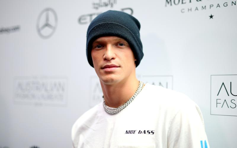 Cody Simpson on the red carpet