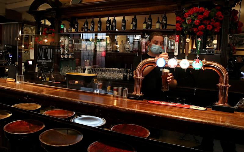 Ms Sturgeon said she would have preferred to have shut pubs - PA