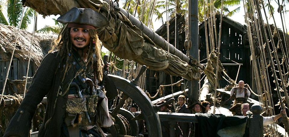 <p>Johnny Depp reprises his Oscar-nominated role as Captain Jack Sparrow in 'Pirates of the Caribbean: Dead Men Tell No Tales' (Photo: Disney)<br><br> </p>  <p>Bottle Cap'n</p><p> Johnny Depp as Captain Jack Sparrow in 'Pirates of the Caribbean: Dead Men Tell No Tales' (Photo: Disney)<br> </p>  <p>The Way We Were</p><p> Javier Bardem as Captain Salazar in a flashback scene from 'Pirates of the Caribbean: Dead Men Tell No Tales' (Photo: Disney) </p>  <p>The Walking Dread</p><p> The undead Captain Salazar (Javier Bardem) in 'Pirates of the Caribbean: Dead Men Tell No Tales' (Photo: Disney) </p>  <p>Back In Ship Shape</p><p> Javier Bardem as the living Captain Salazar in 'Pirates of the Caribbean: Dead Men Tell No Tales' (Photo: Disney)<br> </p>  <p>Message in a Bottle?</p><p> An image from 'Pirates of the Caribbean: Dead Men Tell No Tales' (Photo: Disney)<br><br><br> </p>  <p>Heat Wave</p><p> A spooky Javier Bardem as Captain Salazar in 'Pirates of the Caribbean: Dead Men Tell No Tales' (Photo: Disney)<br><br> </p>  <p>Sweet Bird of Youth</p><p> Captain Jack Sparrow (Johnny Depp) in a flashback scene, made young with the help of CGI in 'Pirates of the Caribbean: Dead Men Tell No Tales' (Photo: Disney)<br><br><br> </p>  <p>Cool vs. Ghoul</p><p> Geoffrey Rush as Barbossa (left) faces off with Javier Bardem as Captain Salazar in 'Pirates of the Caribbean: Dead Men Tell No Tales' (Photo: Disney)<br><br> </p>  <p>Keep Your Eye on the Sparrow</p><p> Johnny Depp as Captain Jack Sparrow in 'Pirates of the Caribbean: Dead Men Tell No Tales' (Photo: Disney)<br><br> </p>  <p>The New Recruit</p><p> Brenton Thwaites plays Henry, a young sailor, in 'Pirates of the Caribbean: Dead Men Tell No Tales' (Photo: Disney)<br><br> </p>