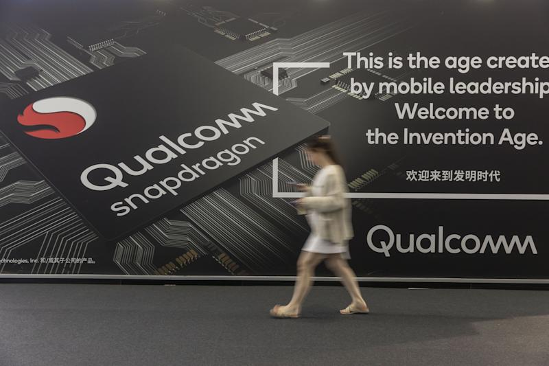 Qualcomm Shares Rise on Strong Forecast Huawei Agreement