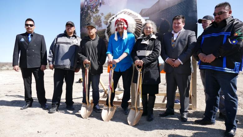 'It's the heart of the community': Lake St. Martin breaks ground for new school