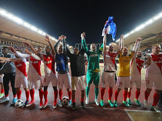 Monaco have been on a remarkable run all the way to the Champions League final four: Getty