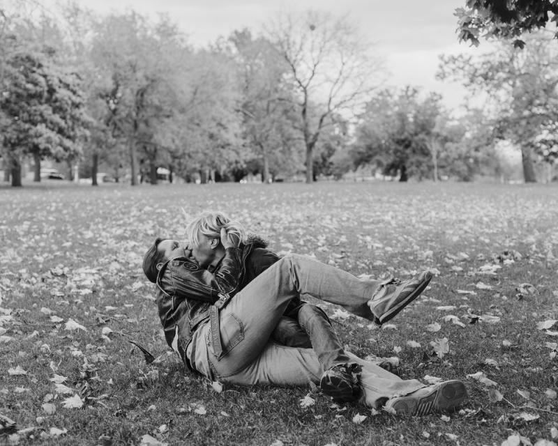 Couple in Park, 2016, featured in the