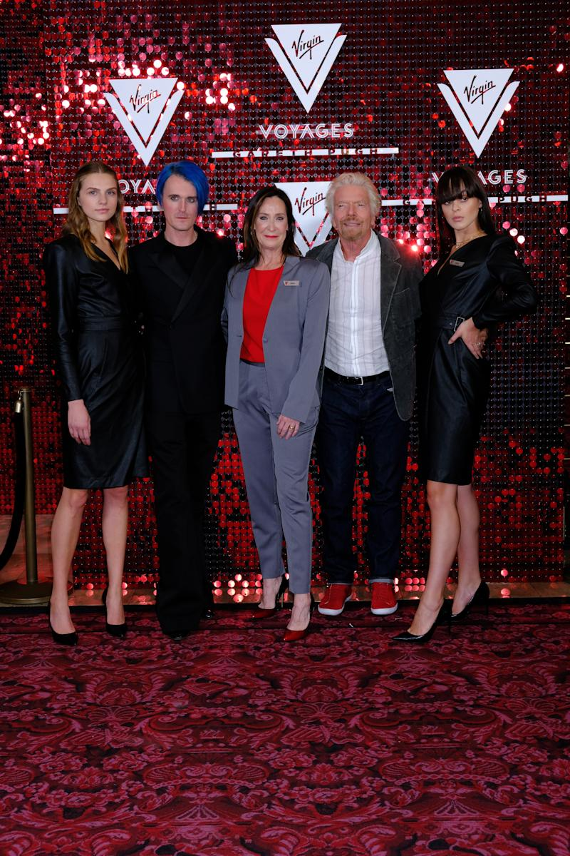 Virgin Voyages Reveals High-fashion Uniform Collection Designed by Gareth Pugh With a Star-studded Celebration at London Fashion Week