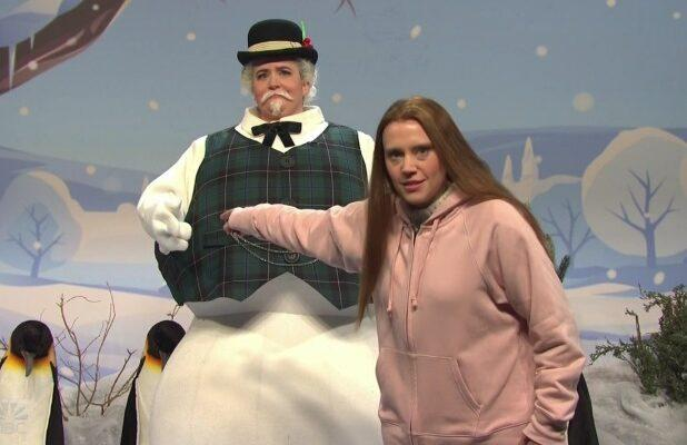 'SNL': McKinnon as Greta Thunberg and a Magic Snowman Unite to Bum Everyone Out for Christmas (Video)