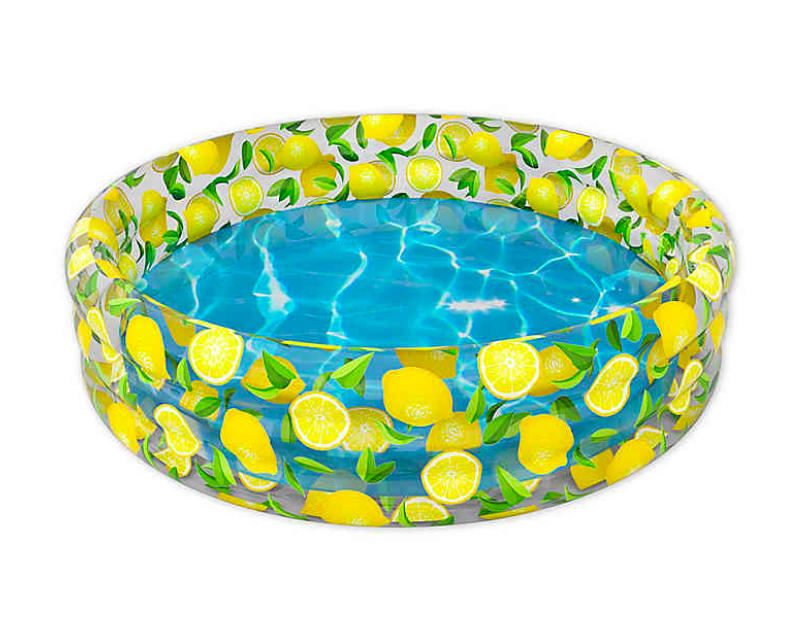 """<h2>Pool Candy Lemon Sunning Pool</h2><br>Bed Bath & Beyond's now-infamous Lemon Sunning Pool was purchased nearly 700 times last year, and we're still seeing the numbers piling up in preparation for warmer days. <br><br><strong>Pool Candy</strong> Lemon Sunning Pool, $, available at <a href=""""https://go.skimresources.com/?id=30283X879131&url=https%3A%2F%2Fwww.bedbathandbeyond.com%2Fstore%2Fproduct%2Fpoolcandy-lemon-sunning-pool%2F5384853%3FskuId%3D68589882"""" rel=""""nofollow noopener"""" target=""""_blank"""" data-ylk=""""slk:Bed Bath & Beyond"""" class=""""link rapid-noclick-resp"""">Bed Bath & Beyond</a>"""