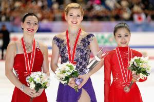 Gracie Gold (center)