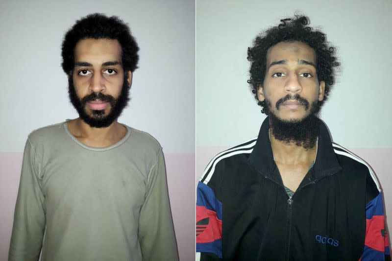 Alleged Islamic State 'Beatles' arrive in U.S. to face charges of hostage deaths