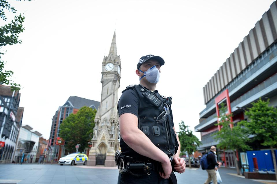 Claims about the Muslim community and Leicester's lockdown were hidden on Facebook following a fact check. (PA Images)