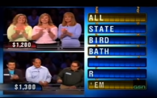 <p><em>Chain Reaction </em>was a word game show where contestants tried to create chains of two-word phrases to advance throughout the game. It originally aired in the '80s and then found success again on GSN in 2006. The most recent version aired in 2015 with Mike Catherwood hosting.</p>