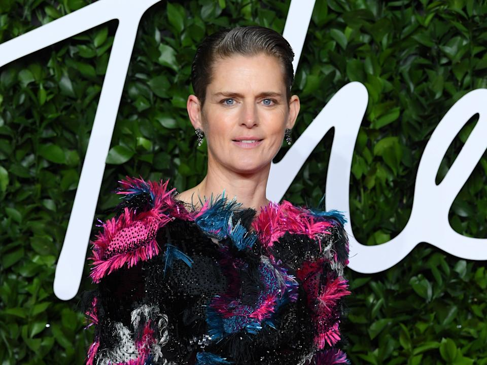 Stella Tennant at the Fashion AwardsRex Features
