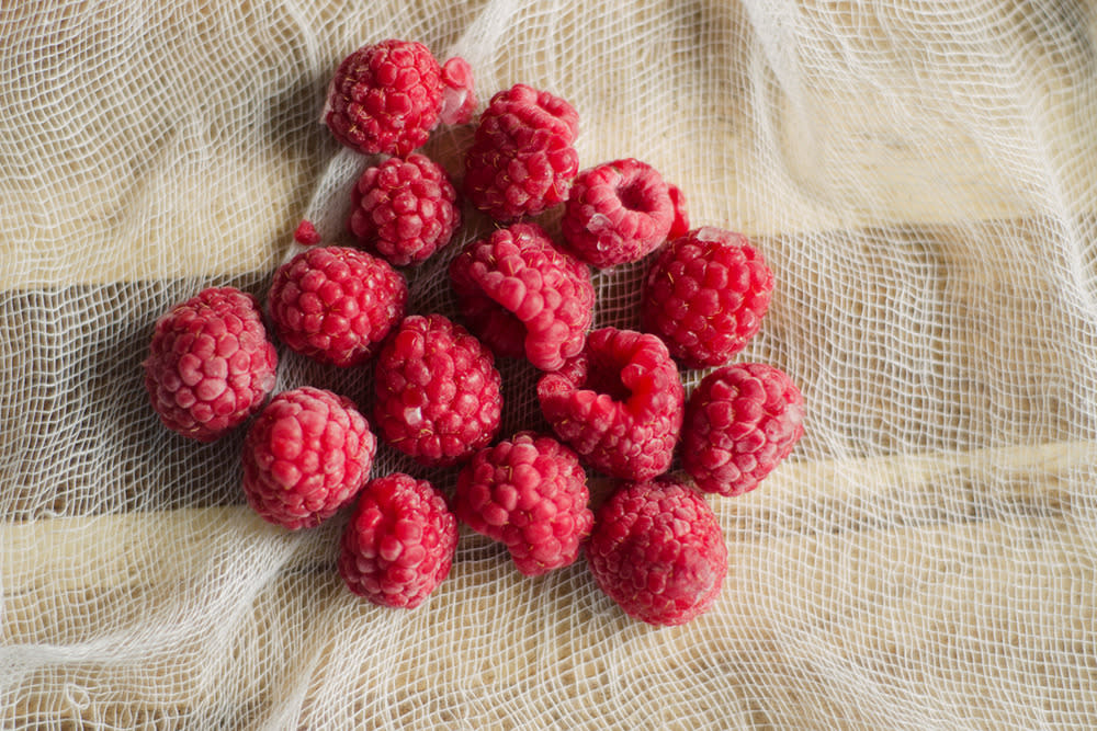 "<p>No other berry can boast the fiber, vitamin, and mineral content of raspberries, according to Tanya Zuckerbrot, registered dietitian and founder and CEO of F-Factor Nutrition, a private nutrition counseling practice in New York City. ""Raspberries are chock-full of vitamin C and fiber, help fill you up for only a few calories, and they taste delicious!"" she tells Yahoo Health.</p><p><i>(Photo: Stocksy)</i><br /></p>"